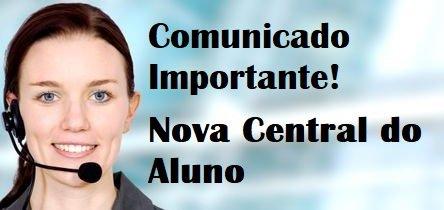 Comunicado importante aos alunos – Nova Central